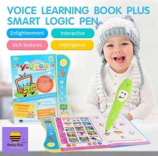 🔥儿童早教语音自学书及精明逻辑笔 | Voice Early Self Learning Book Plus Smart Logic Pen(现货 | Ready Stock)