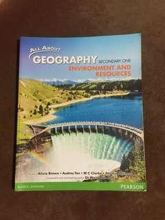 All About Geography Textbook-Secondary One