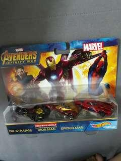 (SALE) Hotwheels Avengers Marvel Infinity War