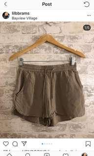 MENDOCINO linen shorts