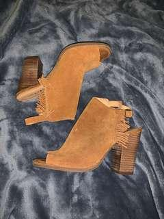 LuckyBrand Suede Booties