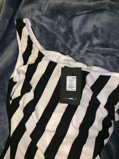 Fashion Nova Striped Maxi Dress