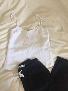 SEED linen cami size 06