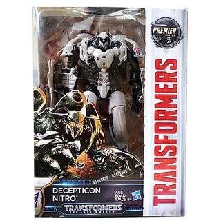 Transformers Decepticon Nitro The Last Knight Voyager Class