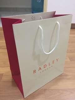Radley paper bag
