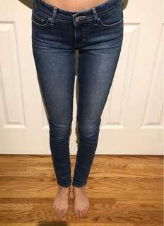 Levi Skinny 711 Jeans Size 25