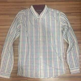 Folded & Hung - Gingham Long Sleeves (Light Brown)