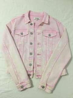 Miss Shop Pink Denim Jacket