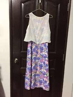 🚚 2 piece Dress Maxi