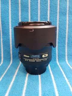 Nikon Afs 35/1.4 G N