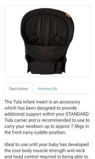 Tula Infant Insert Black
