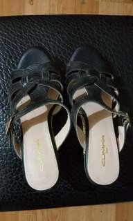 🚚 Cumar楔形涼拖鞋