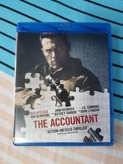 The Accountant Bluray and dvd combo