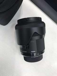 SIGMA Art 35 mm 1.4 Lens