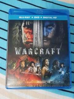 Warcraft Bluray and dvd combo