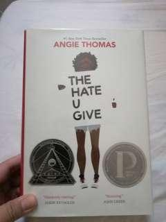 The Hate U Give Hardbound Book by Angie Thomas