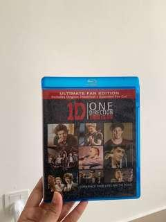1D One Direction THIS IS US bluray