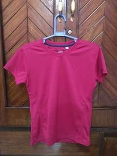 EQUIPE DRI FIT FUSCHIA PINK WORKOUT SHIRT