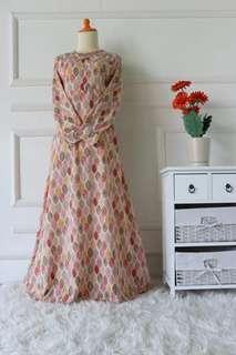 jubah long dress (DRESS ONLY)
