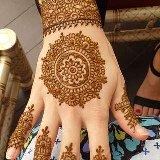 Henna art Singapore