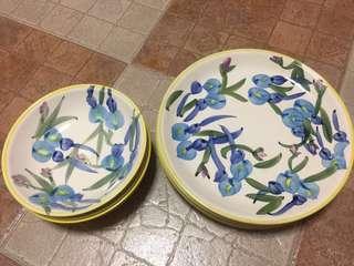 Preloved plate set