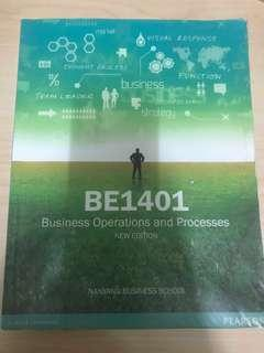 🚚 BE1401 Business Operations And Processes Textbook