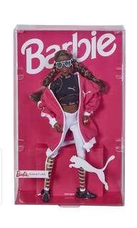 PO Barbie Puma dark hair collector doll