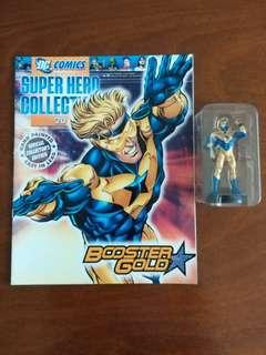 Booster Gold figurine from Eaglemoss