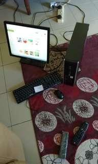 1set dell desktop n pc to let go