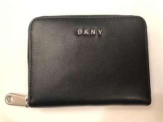 DKNY Mini Wallet - black and silver