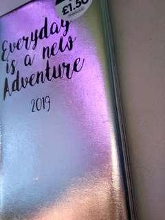 Silver Paper Place Diary Planner 2019