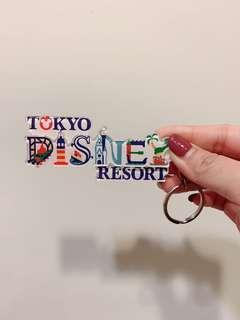 🚚 全新日本🇯🇵迪士尼帶回鑰匙圈