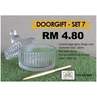 Doorgift Crystal Bowl