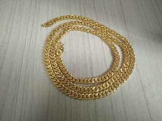 Gold Necklace 916.. $800 fast deal