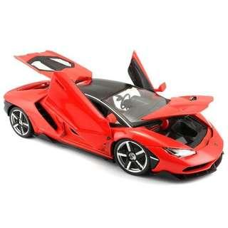 Maisto Lamborghini Centenario 1/18 Red
