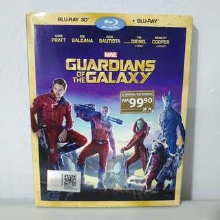 Blu Ray Marvel Guardians of the Galaxy 3D