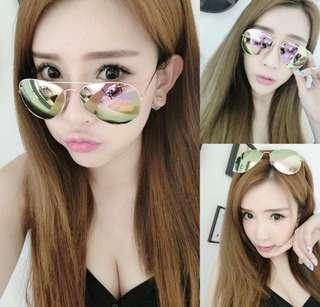 Barbie pink Korean sunglass