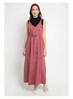Wrap Overall Dress
