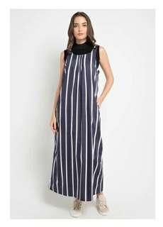 Front Pintuck Dress Overall
