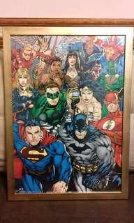 DC Justice League Poster