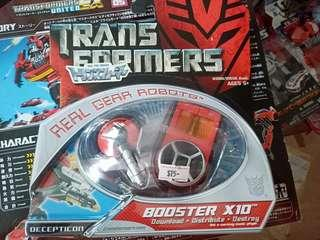 Transformers Movie Real Gear Robots Booster X10 (Lazerbeak like)