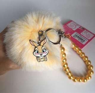 日本迪士尼 miss bunny 鎖匙扣