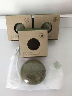Innisfree green tea cleansing bar 1 for $6