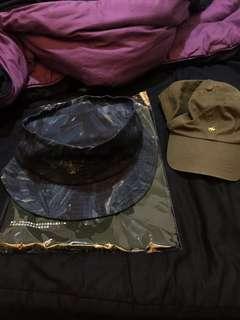 Stussy 藍色迷彩漁夫帽