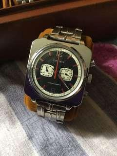 Vintage cimier chronograph winding watch