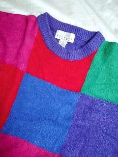 Vintage Color Blocked Pullover (90'sl