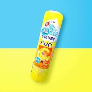 Rohto Melano CC Bubbles Face Wash (150g)