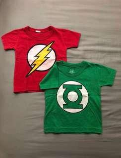 Take All: Superhero shirts