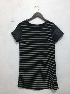 Ally Mini Dress Stripe