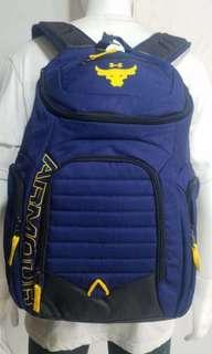"free delivery in stock Under Armour Backpack limited edition ""The Rock"" back pack school bag gym bag"